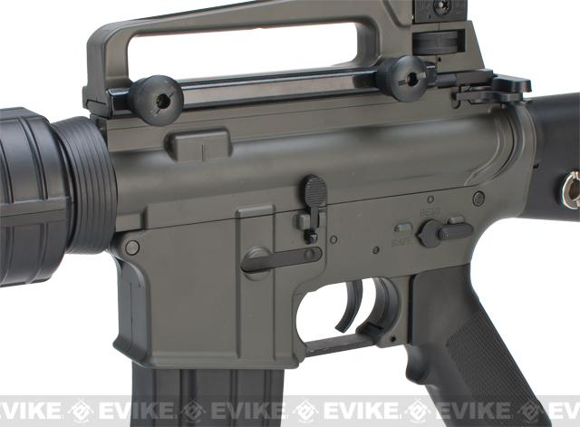 JG Enhanced LiPo Ready M16A3 Airsoft AEG Rifle - (Package: Rifle)