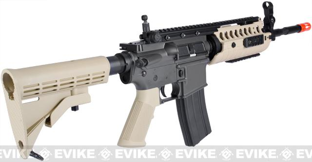 JG M4 Tactical-System V.II Full Size Airsoft AEG Rifle (Tan)