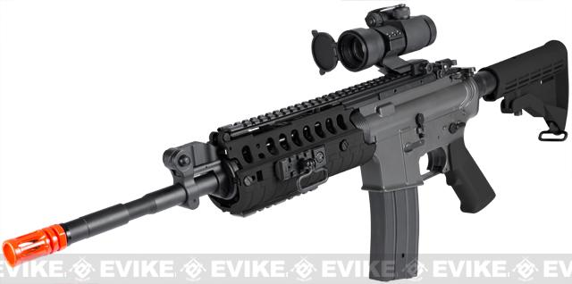 JG M4 Tactical-System V.II Full Size Airsoft AEG Rifle (Black)