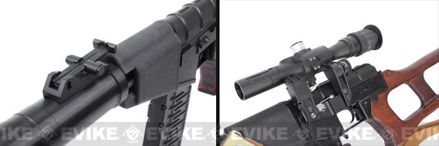 King Arms VSS Vintorez Full Metal Airsoft AEG Sniper Rifle