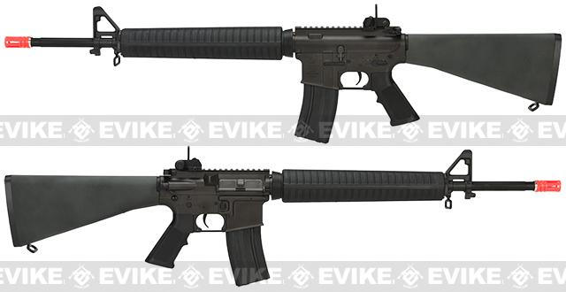 King Arms Full Metal Colt Licensed M16A3 Airsoft AEG Rifle