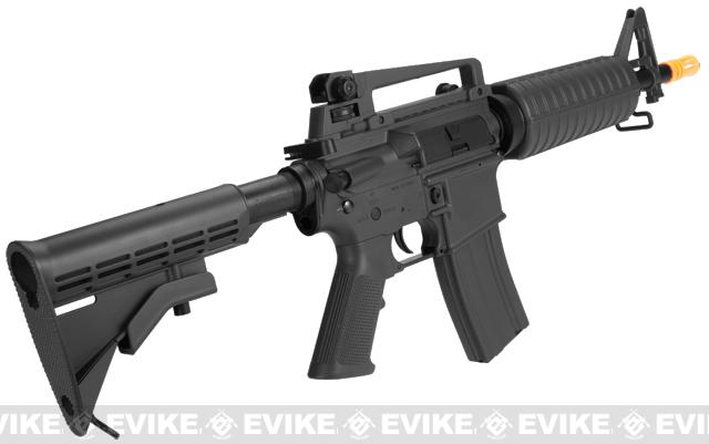 Lancer Tactical M4 CQB Airsoft AEG Rifle - Black