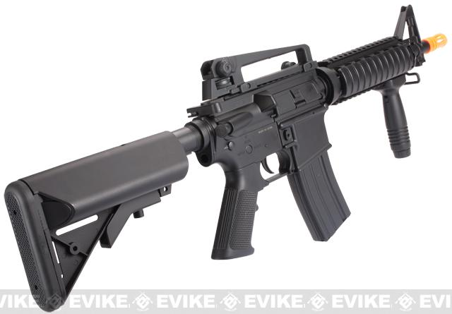 Lancer Tactical M4 CQB-R Airsoft AEG Rifle - Black