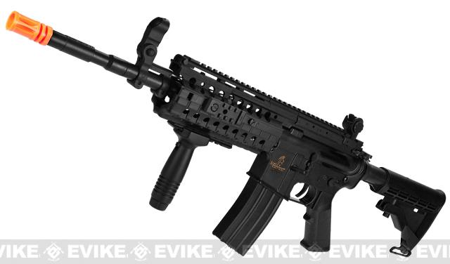 z Lancer Tactical M4-S System Airsoft AEG Rifle - Black