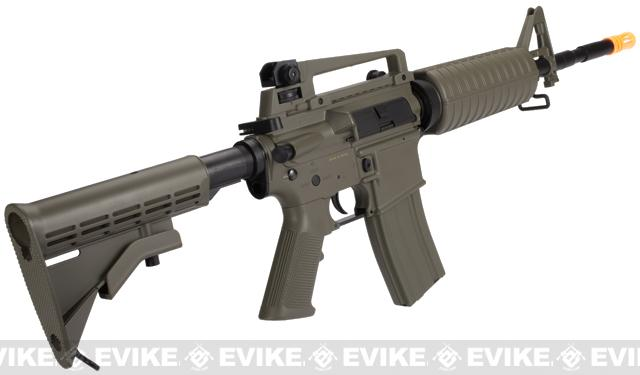 Lancer Tactical M4A1 Airsoft AEG Rifle - Tan