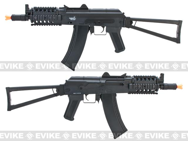 Bone Yard - Lancer Tactical AK74U RIS Airsoft AEG Rifle (Store Display, Non-Working Or Refurbished Models)