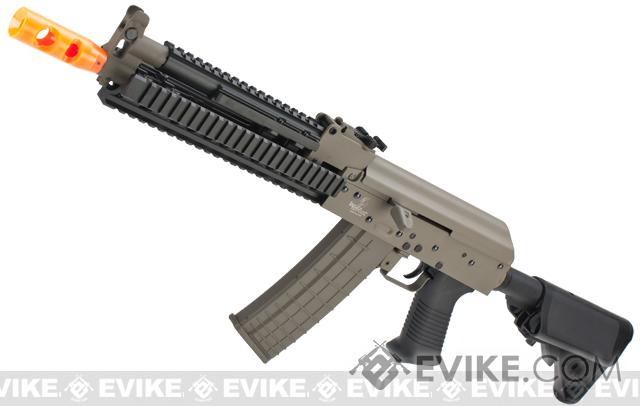 Lancer Tactical Full Metal Tactical AK Airsoft AEG Rifle - Tan