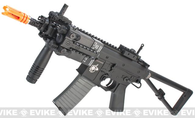 Bone Yard - Lancer Tactical KAC Knights Armament Full Metal PDW AEG Rifle (Store Display, Non-Working Or Refurbished Models)