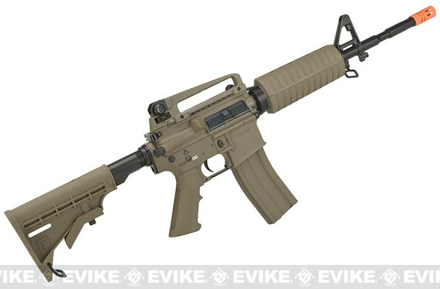 G&G Full Metal M4 Carbine Airsoft AEG Rifle w/ LE Stock - Tan (Package: Gun Only)