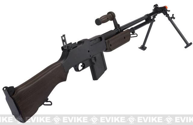 BAR M1918 A2 Full Size Full Metal Airsoft AEG Rifle w/ Steel Bipod by Matrix