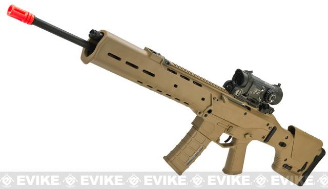 A&K Masada DMR Custom Airsoft AEG Rifle - Dark Earth