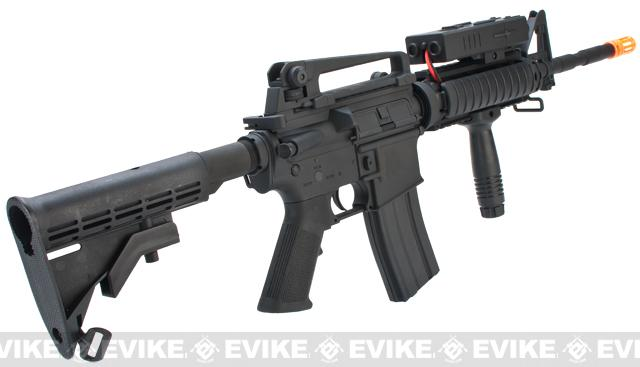 AGM / Dboy Full Metal M4 RIS Carbine Airsoft AEG Rifle w/ PEQ2 Box