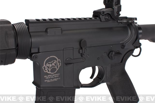 z Beta Project Mil-Spec Monkey M4 Electric Blowback Airsoft AEG Rifle