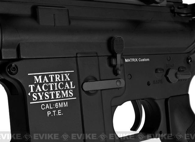 z Matrix Pro-Line Lipo Ready 8mm Gearbox Full Metal M4 Carbine Airsoft AEG (360~400 FPS)