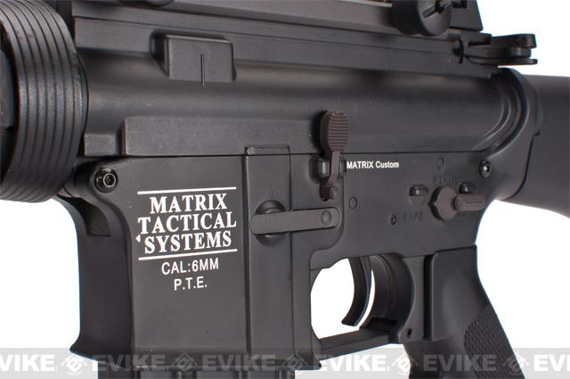 Matrix Pro-Line Lipo Ready 8mm Gearbox Full Metal M16 SPR Airsoft AEG (400~460 FPS)