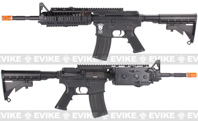 Evike Class I Custom Matrix AIM M4 Airsoft AEG Rifle - Black
