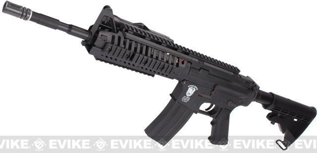 Evike US Navy E.O.D. Custom Matrix AIM M4 Airsoft AEG Rifle - Black