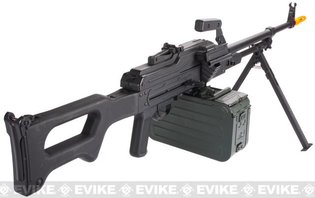 Matrix PKM Russian Battlefield Squad Automatic Weapon Airsoft Machine Gun (Furniture: Synthetic)