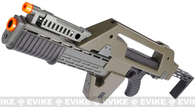 Matrix Limited Edition Custom Alien Pulse Rifle Airsoft AEG