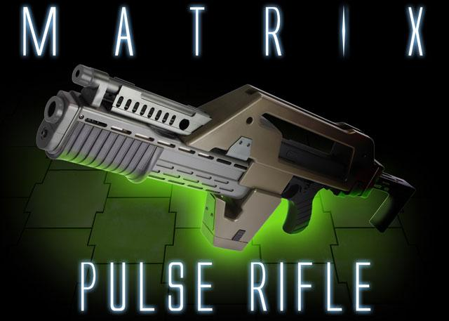 Pre-Order ETA December 2015 Matrix Limited Edition Custom Alien Pulse Rifle Airsoft AEG