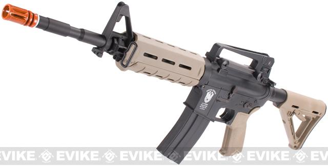 z Matrix AIM Top Custom Lipoly Ready 8mm Gearbox M4 MOE Carbine Airsoft AEG - Dark Earth