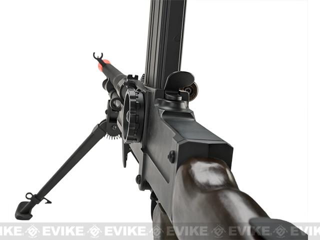 Matrix Full Metal ZB-30 ZB-26 Airsoft AEG Machine Gun w/ Folding Bipod (Model: Real Wood)