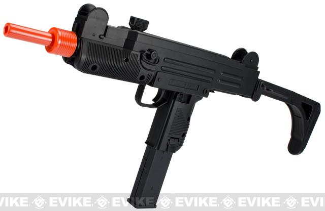 Bone Yard - Full Size Metal Gearbox UZI Airsoft AEG SMG by WELL (Store Display, Non-Working Or Refurbished Models)