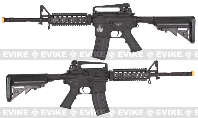 z Colt Full Metal M4 RIS Carbine w/ Crane Stock Airsoft AEG Rifle