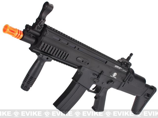 z FN Herstal Licensed SCAR Airsoft AEG Rifle by Dboy - Black