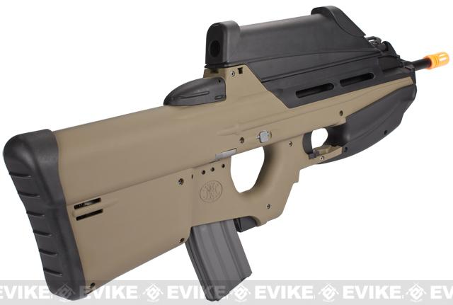 G&G FN Herstal FN2000 Hunter Airsoft AEG Rifle - Dark Earth (Package: Add 9.6 Butterfly Battery + Smart Charger)