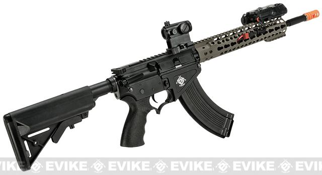 Evike Class I Custom Limited G&P MOTS Edition 10.75 KeyMod Free Float Rail System SR-47 - Sand