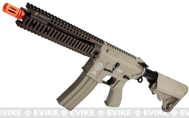 z SOCOM Gear PWS M4 Mk110 Airsoft AEG Rifle - Tan