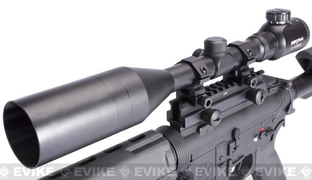 z Evike SuperMax Magpul DMR Airsoft AEG Rifle - (Black)