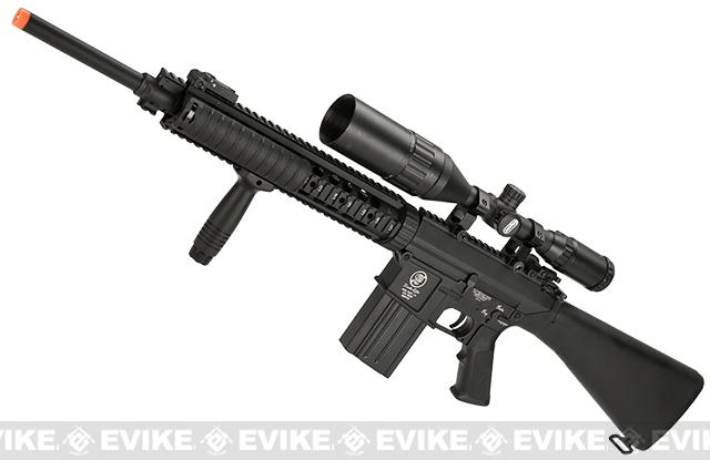Pre-Order ETA February 2017 A&K Full Metal SR-25 Airsoft AEG Rifle w/ Zombie Killer Trademarks