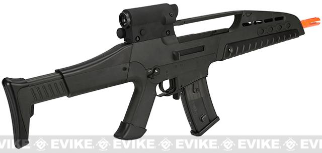 z SRC SM8 Airsoft AEG Rifle w/ Two Hi-Cap Mags - Black