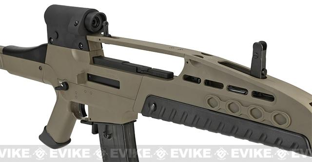 Pre-Order ETA April 2017 SRC SM8 Airsoft AEG Rifle w/ Two Hi-Cap Mags - Desert Tan
