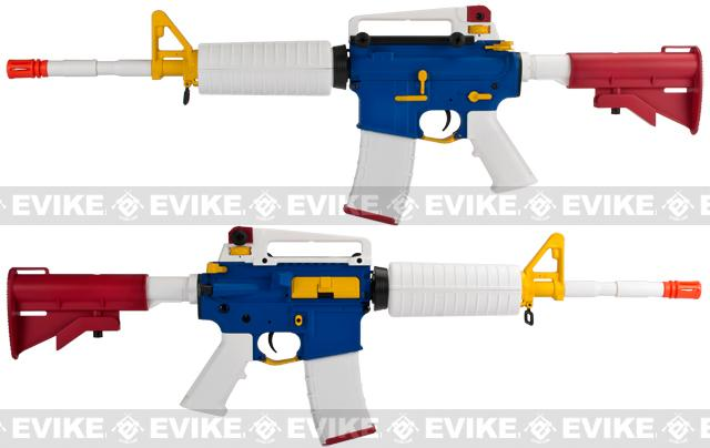 Evike Class II Custom High Performance Gundam Inspired Airsoft AEG Rifle by SRC - E.F.S.F.