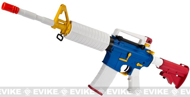 Evike Custom High Performance Gundam Inspired Airsoft AEG Rifle by SRC - E.F.S.F.