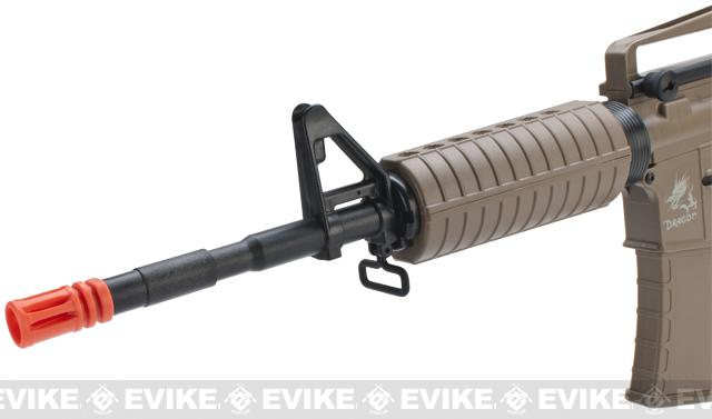 SRC SR4 M4A1 Dragon Series Airsoft AEG Rifle - Tan