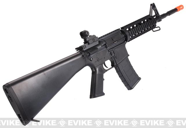 Pre-Order ETA January 2017 SRC SR-16 RIS Dragon Series Airsoft AEG Rifle - Black
