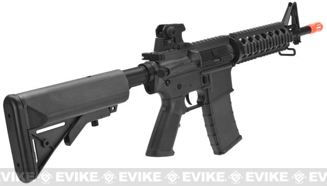 SRC SR4 RIS Dragon Series Airsoft AEG Rifle - Black
