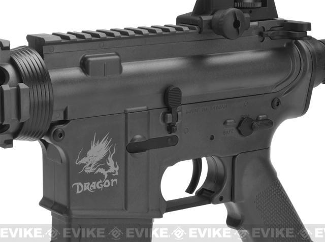 SRC SR4 RIS Dragon Series Airsoft AEG Rifle - Black