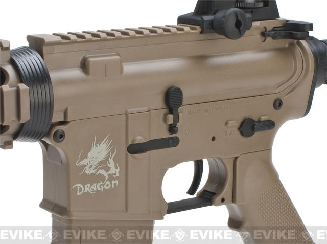 SRC SR4 RIS Dragon Series Airsoft AEG Rifle - Tan