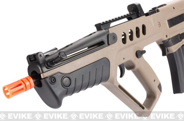 z Israeli Weapon Licensed S&T TAVOR-21 TAR 21 CQC Airsoft AEG Rifle - OD Green (Full Metal Gearbox)