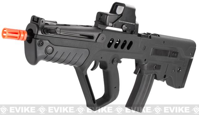 IWI Licensed TAVOR TAR-21 Airsoft AEG Rifle by Umarex w/ Metal Gearbox (Black / Competition Series)