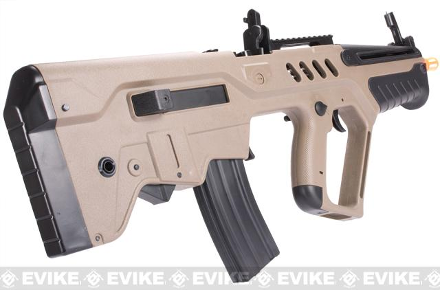 IWI Licensed TAVOR TAR-21 Airsoft AEG Rifle by Umarex w/ Metal Gearbox (Dark Earth / Competition Series)