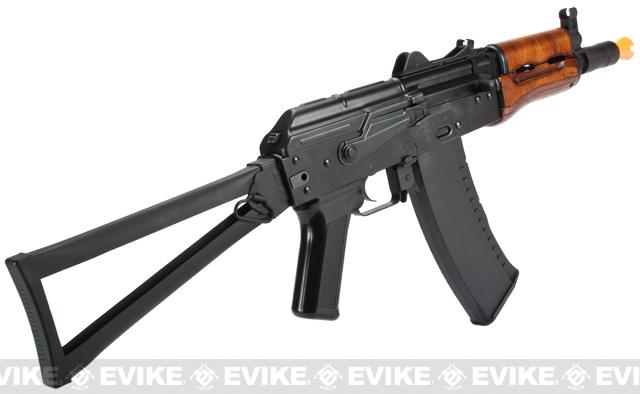 G&G GKS74U Full Metal Airsoft AEG Rifle - (Package: Add 7.4v LiPo Battery + BMS Charger + LiPo Safe)