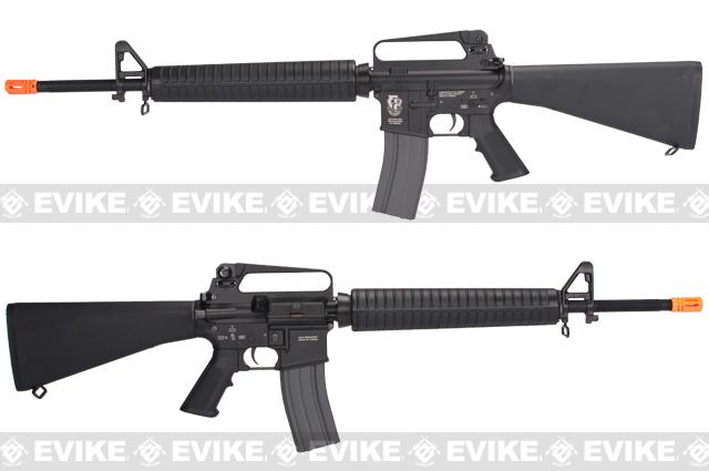 z G&G Top Tech TR16 A2 Blowback Airsoft AEG Rifle - (Package: Gun Only)