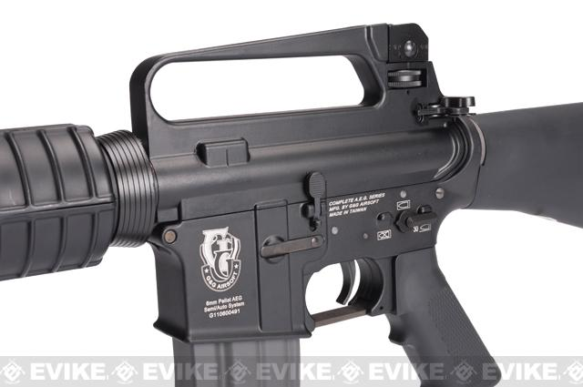 Pre-Order ETA March 2017 G&G Top Tech TR16 A2 Blowback Airsoft AEG Rifle - (Package: Gun Only)
