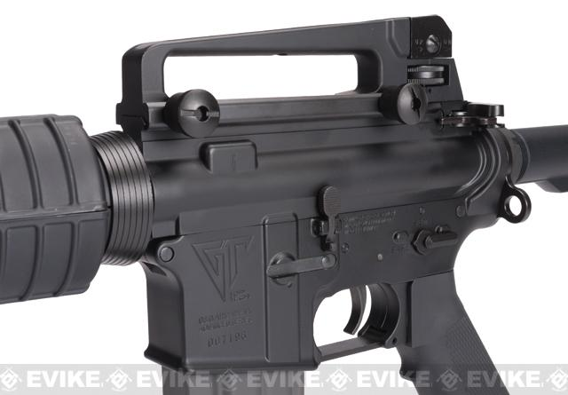 G&G Top Tech TR16 M4 Carbine Electric Blowback Airsoft AEG Rifle - (Package: Add 9.6 Butterfly Battery + Smart Charger)